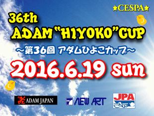 第36回アダムひよこカップ結果発表! 2016.6.19開催イメージ